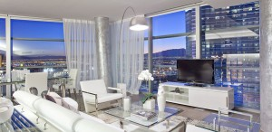 Veer Luxury High Rise Condos for Sale Las Vega Living Room