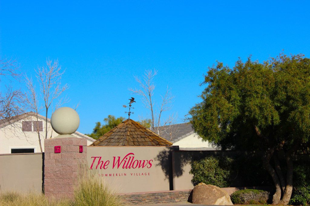 Summerlin Homes for Sale in The Willows Village