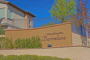 Barcelona Homes for Sale Summerlin The Paseos - Las Vegas Real Estate